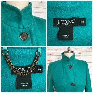 J. Crew Jackets & Coats - J. CREW Colletta Tailored Wool Trench Coat